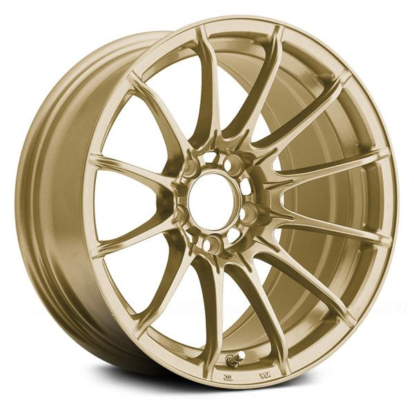 DIAL IN GLOSS GOLD RIM by KONIG WHEELS