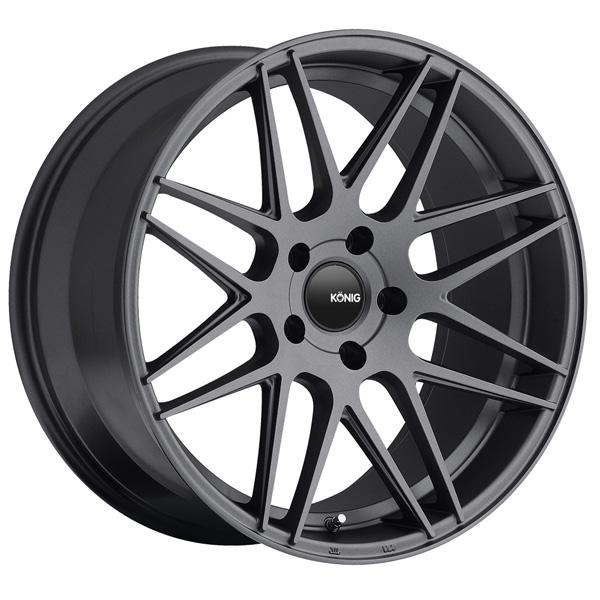 INTEGRAM MATTE GRAPHITE RIM by KONIG WHEELS