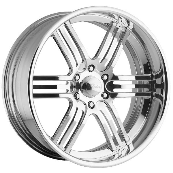 IMPERIAL 6 POLISHED RIM by RACELINE WHEELS