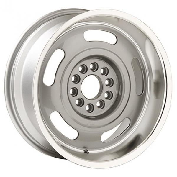 CORVETTE RALLY SILVER RIM with MACHINED LIP by YEARONE WHEELS