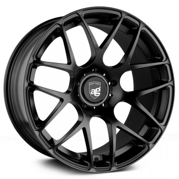 RUGER MESH ROTARY FORGED MATTE BLACK RIM by AVANT GARDE WHEELS