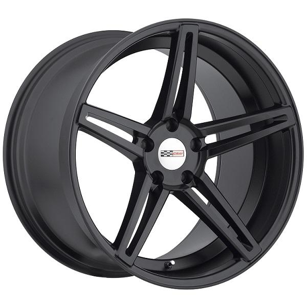 BRICKYARD MATTE BLACK RIM by CRAY WHEELS