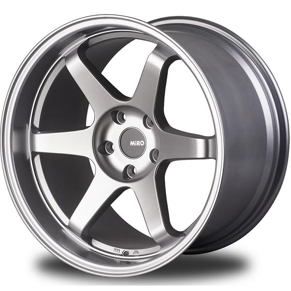 TYPE 398 FULL SILVER RIM by MIRO WHEELS