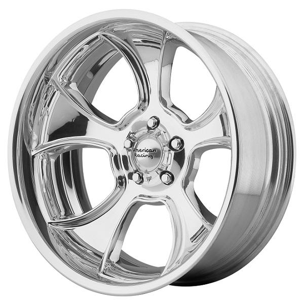 VN474 GASSER POLISHED RIM by AMERICAN RACING WHEELS