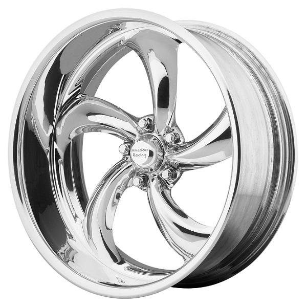 VF489 FORGED POLISHED SOFT LIP RIM by AMERICAN RACING WHEELS