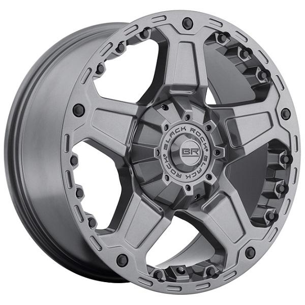 BLACK ROCK 907A TERRA ANTHRACITE RIM PPT by SPECIAL BUY WHEELS