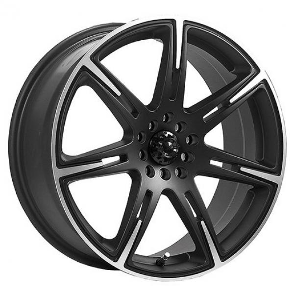 210MB KAMIKAZE CARBON BLACK RIM with MACHINED ACCENTS by ICW WHEELS