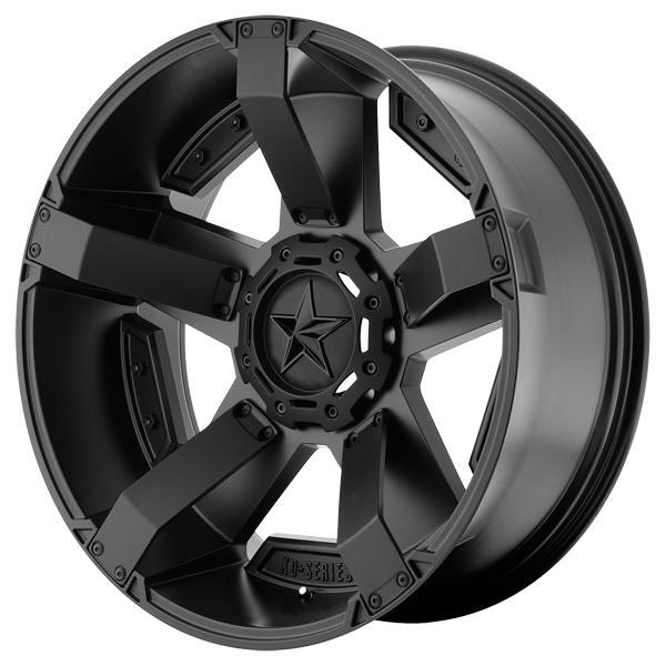 XD SERIES XD811 RS2 MATTE BLACK RIM PPT by SPECIAL BUY WHEELS