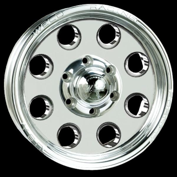 TRAILER R50 POLISHED RIM by WELD RACING WHEELS