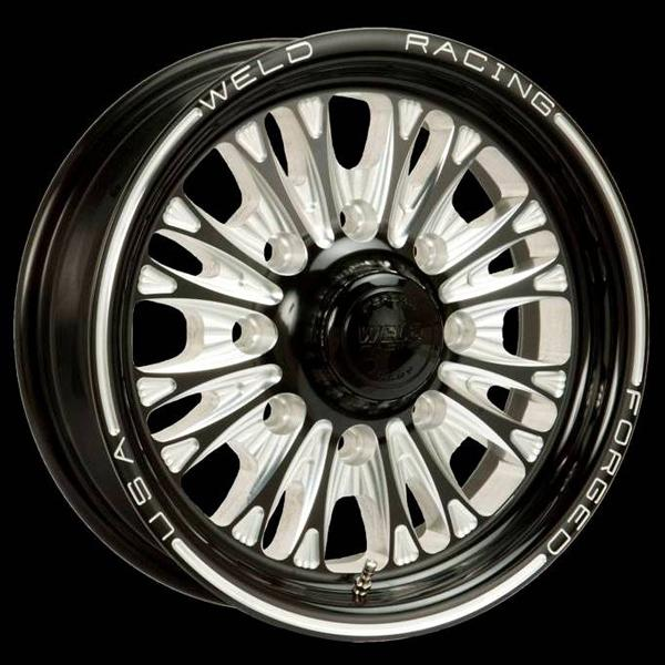 TRAILER R54 BLACK ANODIZED RIM by WELD RACING WHEELS