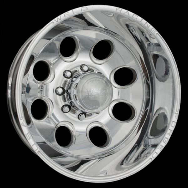 DUALLY D50 POLISHED RIM by WELD RACING WHEELS