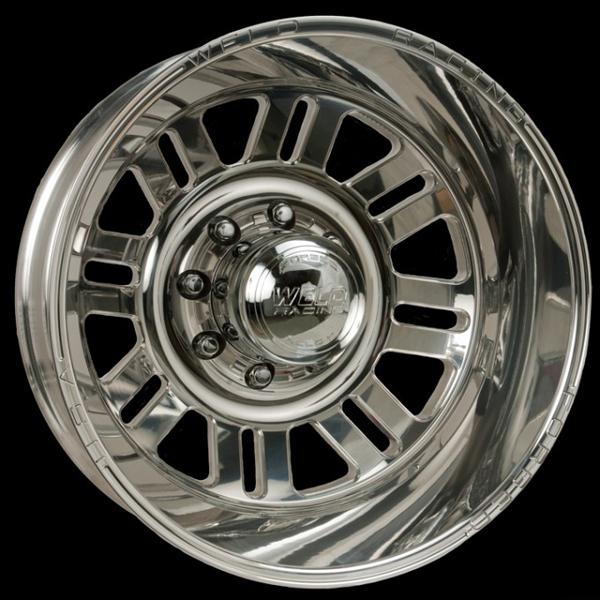 DUALLY D56 POLISHED RIM by WELD RACING WHEELS