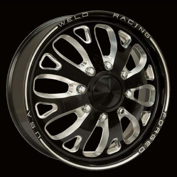 DUALLY D58 BLACK ANODIZED RIM by WELD RACING WHEELS
