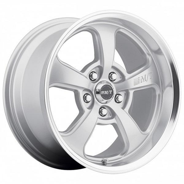 MICKEY THOMPSON STREET COMP SC-5 SILVER RIM PPT by SPECIAL BUY WHEELS