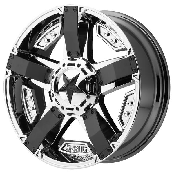 XD811 ROCKSTAR II PVD RIM with MATTE BLACK ACCENTS by XD SERIES WHEELS