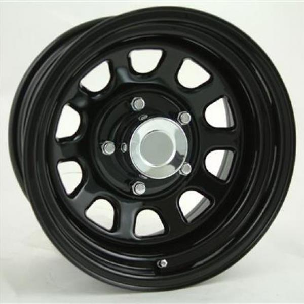 STEEL SERIES 52 GLOSS BLACK POWDER COAT RIM - Cap Not Included by PRO COMP ALLOYS WHEELS
