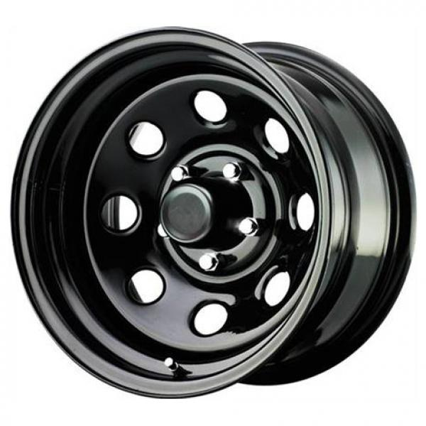 STEEL SERIES 97 GLOSS BLACK RIM - Cap Not Included by PRO COMP ALLOYS WHEELS