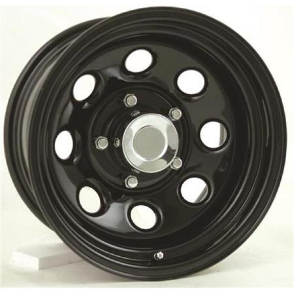 STEEL SERIES 98 GLOSS BLACK RIM - Cap Not Included by PRO COMP ALLOYS WHEELS