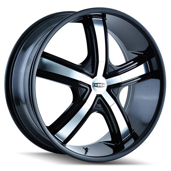 BOOST D69 BLACK RIM with MACHINED FACE by DIP WHEELS