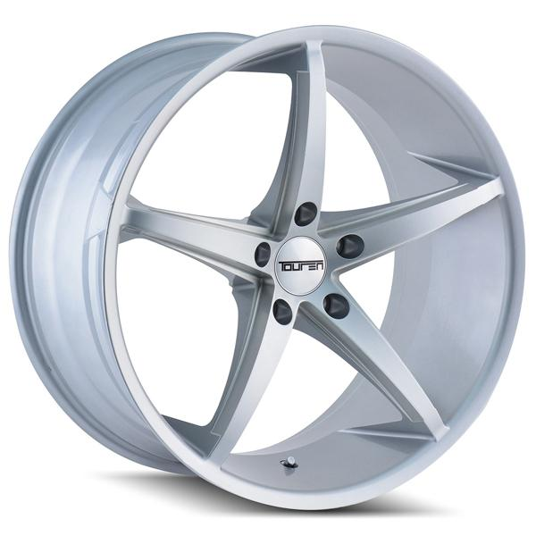 TR70 SILVER RIM with MILLED SPOKES by TOUREN WHEELS