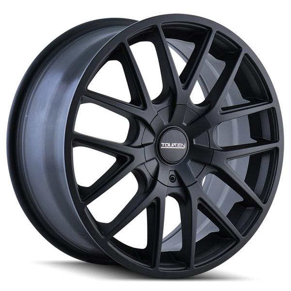TR60 MATTE BLACK RIM by TOUREN WHEELS