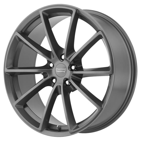 VN806 FAST BACK ANTHRACITE GRAY RIM by AMERICAN RACING WHEELS