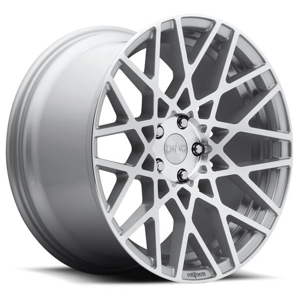 BLQ R110 SILVER MACHINED RIM by ROTIFORM CAST COLLECTION