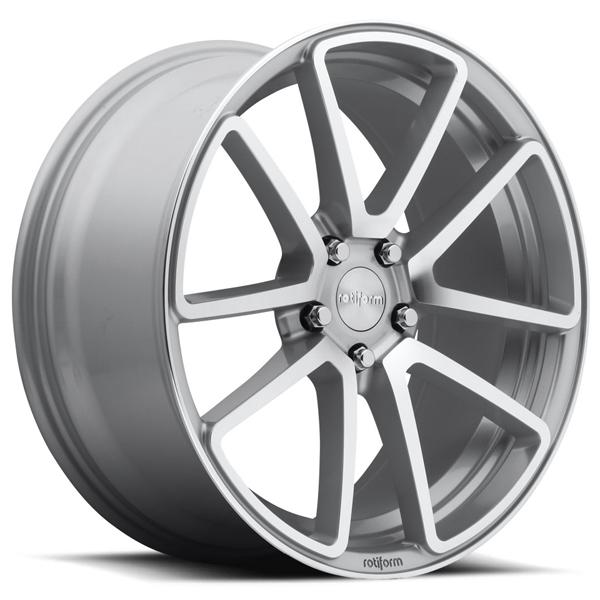 SPF R120 SILVER MACHINED RIM by ROTIFORM CAST COLLECTION