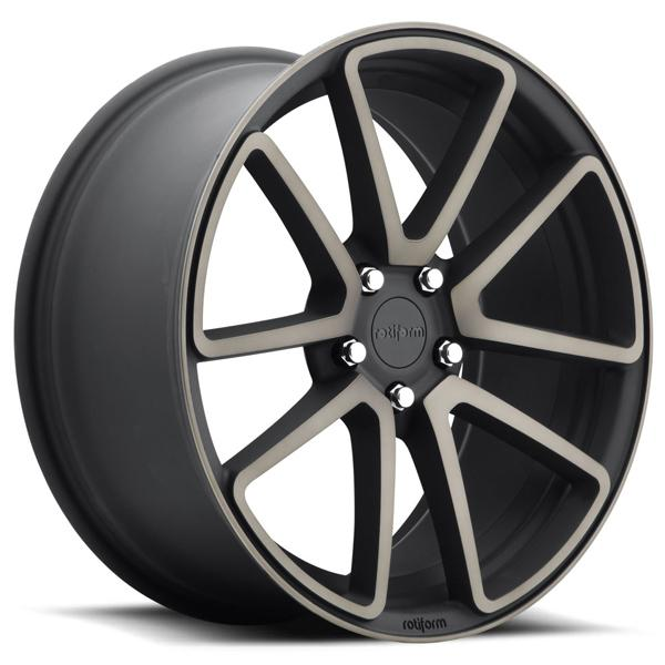 SPF R121 BLACK MACHINED DDT RIM by ROTIFORM CAST COLLECTION