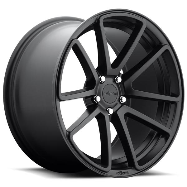 SPF R122 MATTE BLACK RIM by ROTIFORM CAST COLLECTION
