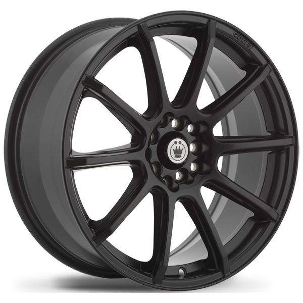 CONTROL MATTE BLACK RIM by KONIG WHEELS