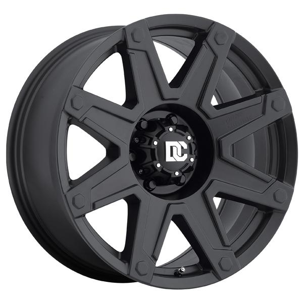 DC TERRAIN MATTE BLACK RIM by DICK CEPEK WHEELS