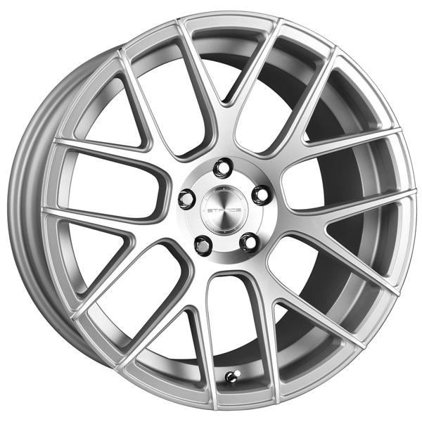 SC-9 SILVER MACHINED RIM by STANCE WHEELS