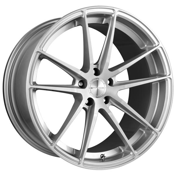 SC-1 SILVER RIM with BRUSHED FACE by STANCE WHEELS
