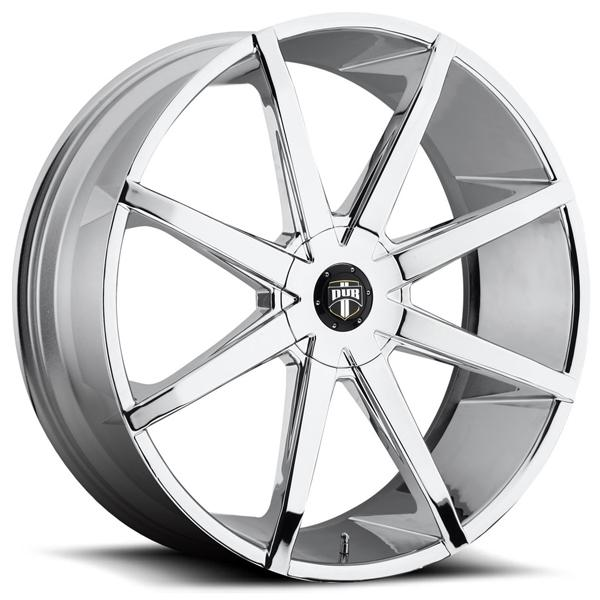 PUSH S201 CHROME RIM by DUB WHEELS