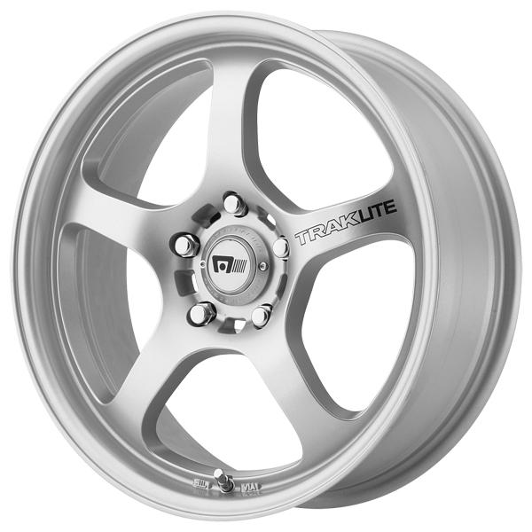 MR131 TRAKLITE SILVER RIM by MOTEGI RACING WHEELS