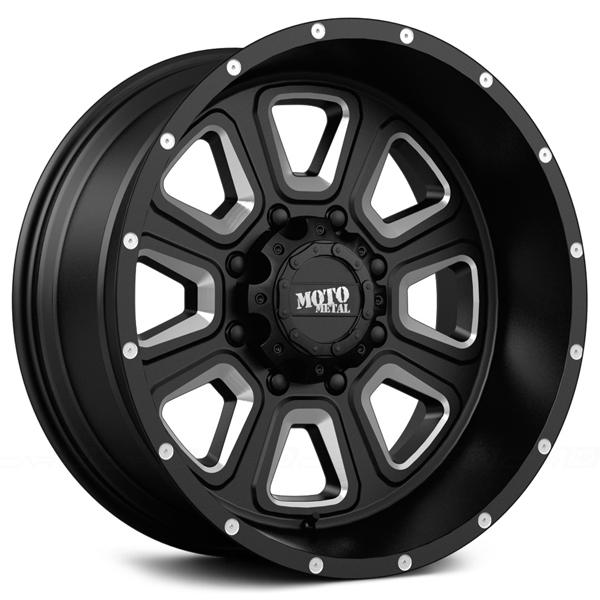 MO972 GLOSS BLACK RIM by MOTO METAL WHEELS