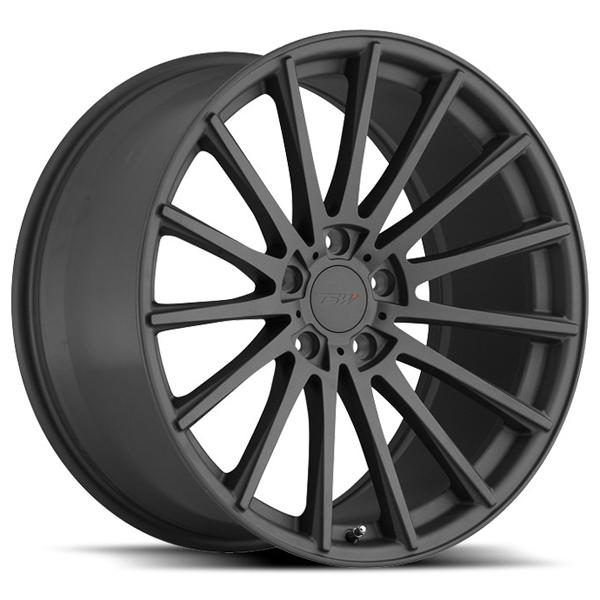 CHICANE MATTE GUNMETAL RIM by TSW WHEELS