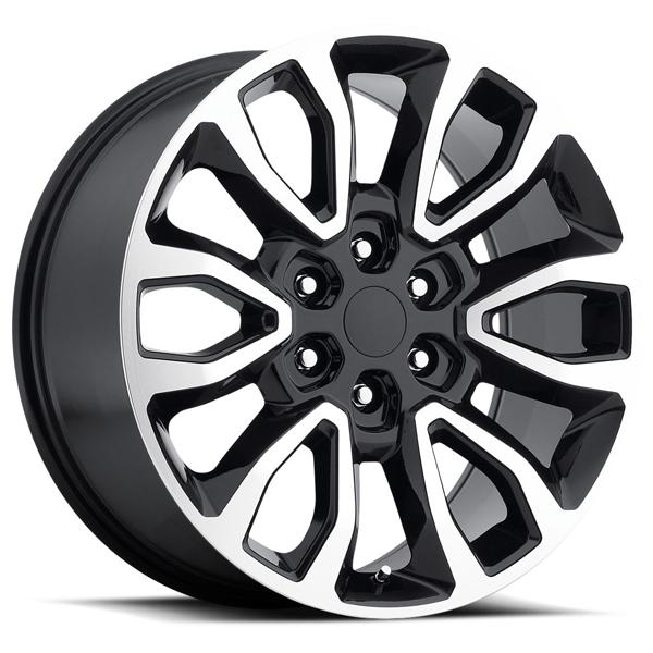 FORD F150 RAPTOR STYLE 53 BLACK MACHINED FACE RIM by FACTORY REPRODUCTIONS WHEELS