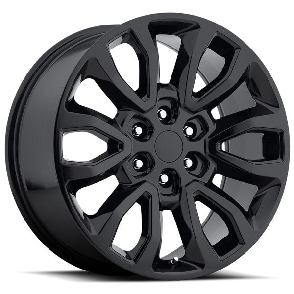 FORD F150 RAPTOR STYLE 53 GLOSS BLACK RIM by FACTORY REPRODUCTIONS WHEELS