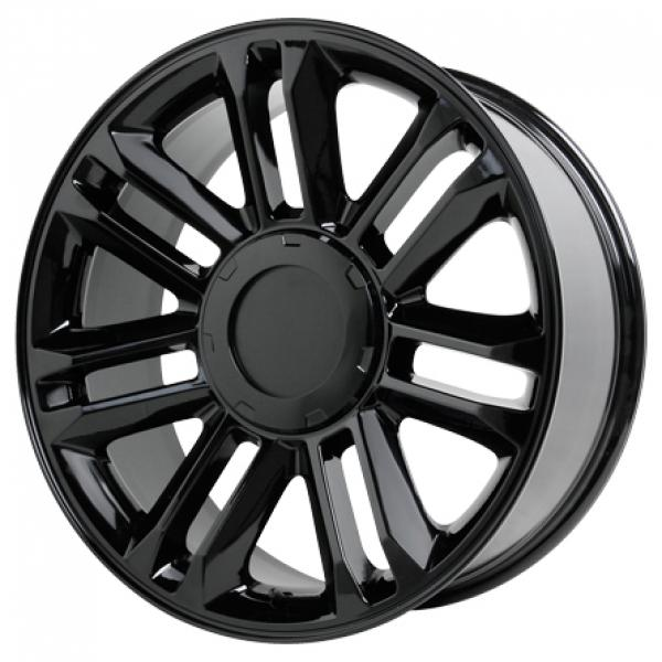 V1165 PLATINUM GLOSS BLACK RIM by WHEEL REPLICAS WHEELS