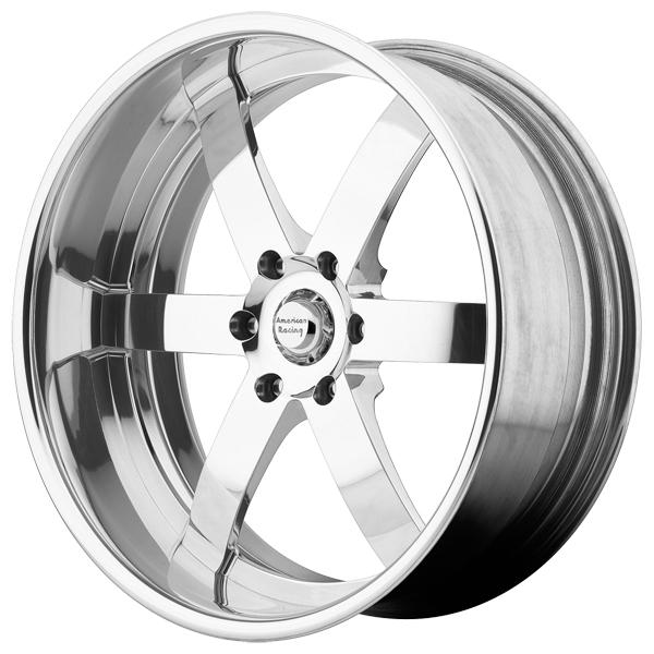 VF496 FORGED POLISHED BRUSHED RIM by AMERICAN RACING WHEELS