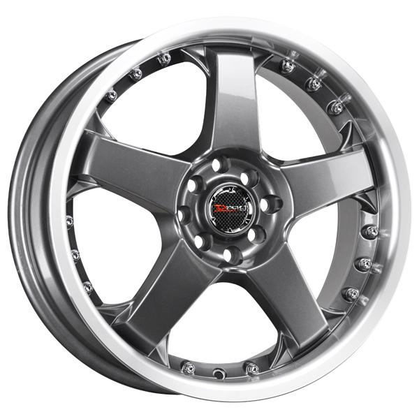DR11 GUNMETAL RIM with MACHINED LIP by DRAG WHEELS