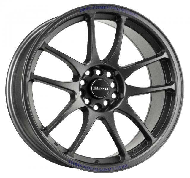 DR31 CHARCOAL GRAY FULL PAINTED RIM by DRAG WHEELS