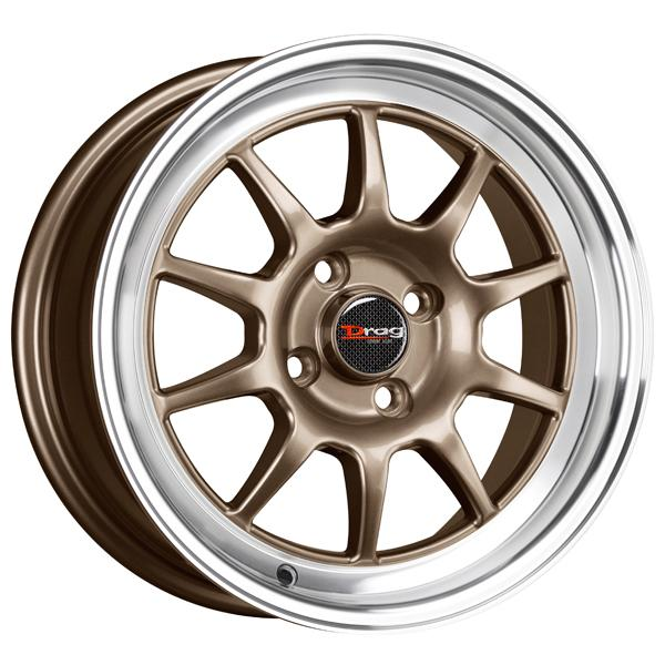 DR16 BRONZE RIM with MACHINED LIP by DRAG WHEELS