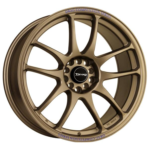 DR31 RALLY BRONZE FULL PAINTED RIM by DRAG WHEELS
