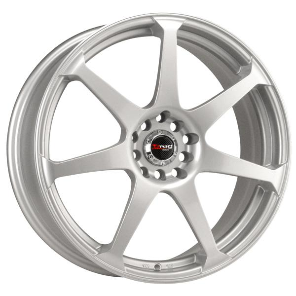 DR33 SILVER FULL PAINTED RIM by DRAG WHEELS