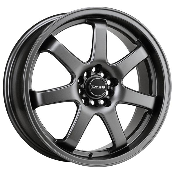 DR35 CHARCOAL GRAY FULL PAINTED RIM by DRAG WHEELS