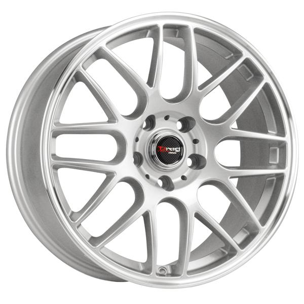 DR37 SILVER RIM with MACHINED LIP by DRAG WHEELS