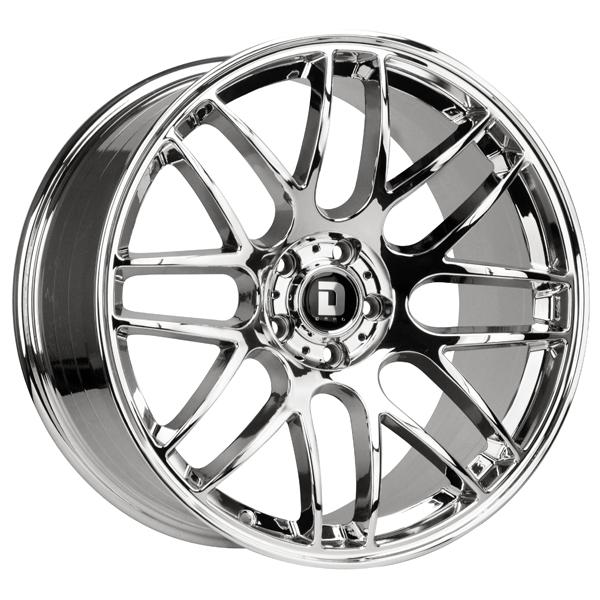 DR37 VIRTUAL CHROME RIM by DRAG WHEELS